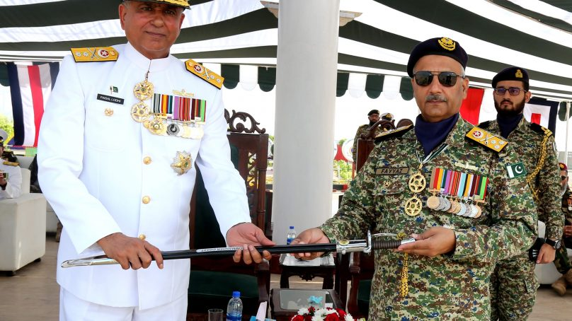 Navy Press Release: Rear Admiral Faisal Rasul Lodhi takes over as Commander Coast