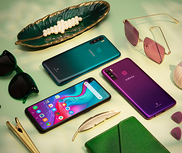"""Redefine viewing experience with the new Infinix S5's 6.6"""" Punch Hole display"""