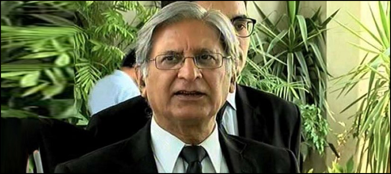 I don't believe Nawaz is a brave man: Aitzaz Ahsan