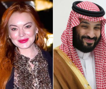 Lindsay Lohan and Saudi crown prince in 'platonic' relationship?