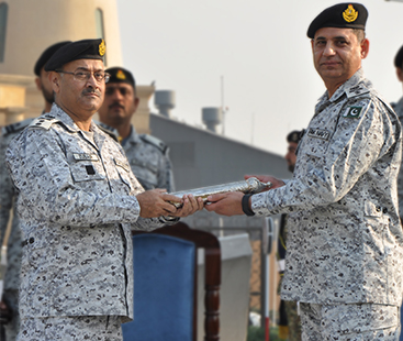 Rear Admiral Muhammad Zubair Shafique takes over as Commander Central Punjab