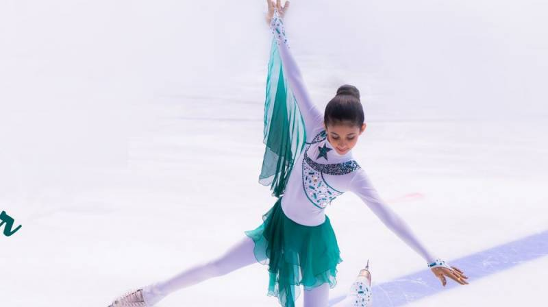 5-year-old Pakistani girl wins figure skating championship in Austria