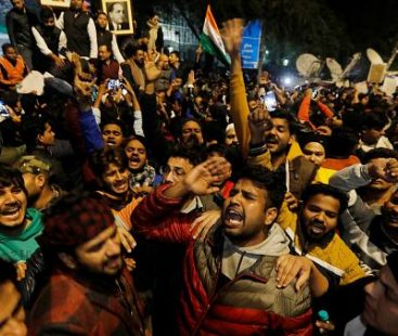 Violence erupts at Delhi university over Indian citizenship law