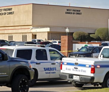 Texas church shooting claims two lives