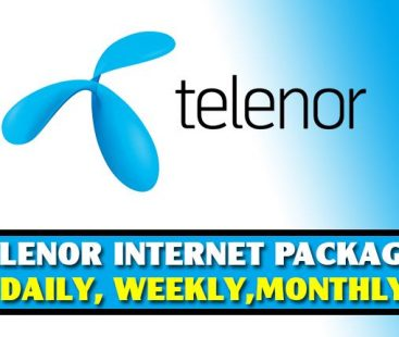 Telenor Monthly Internet Packages