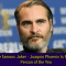 The famous 'Joker' Joaquin Phoenix Is PETA's Person of the Year