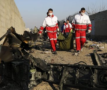 Ukrainian airliner crashes in Iran; all 176 aboard dead