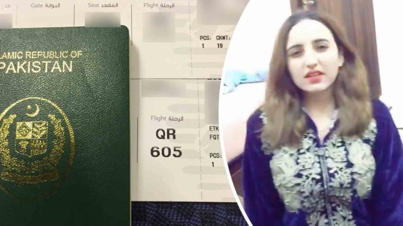 TikTok star Hareem Shah leaves Pakistan, applies for Canadian citizenship