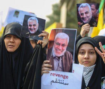 Qassem Soleimani's body reaches for burial in southeast Iran