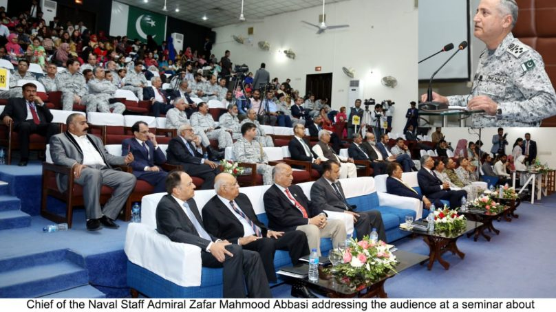 National Institute of Maritime Affairs Holds Seminar on Kashmir Issue at Bahria University, Karachi