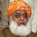 Fazl criticizes opposition parties for symbolic participation during march