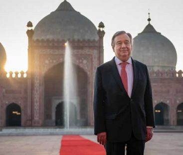 UN chief leaves Pakistan following successful visit