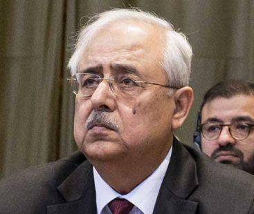 Attorney General Anwar Mansoor Khan tenders resignation