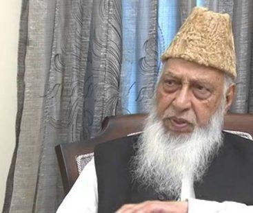 Former Karachi mayor Naimatullah Khan dies