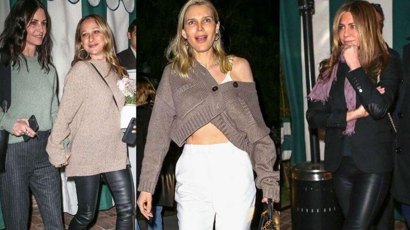 Jennifer Aniston and other A-list celebrities grace Sara Foster's birthday celebration