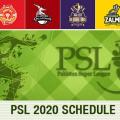 PSL schedule