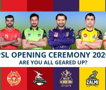 PSL Opening Ceremony 2020 – Are you all geared up?