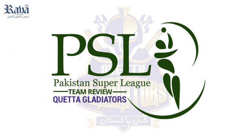 Quetta Gladiators  – Team Review PSL 2020