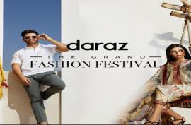 Daraz' Grand Fashion Festival celebrates the launch of leading international brands