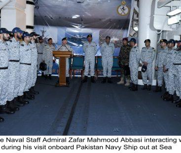 Naval Chief Visits Coastal Areas And Units at Sea Amid Major Naval Exercise SEASPARK – 2020