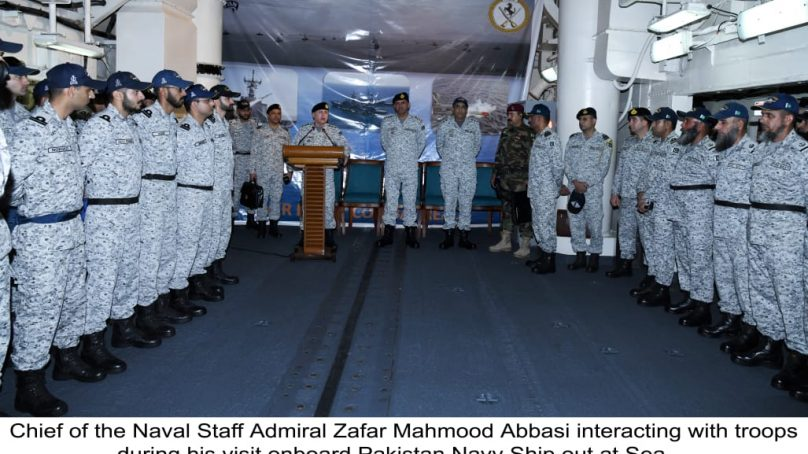 Naval Chief Visits Coastal Areas And Units at Sea Amid Major Naval Exercise SEASPARK – 2020