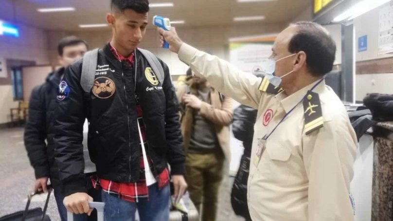 Pakistani officials visit virus-riven Wuhan to meet affected Pakistani students