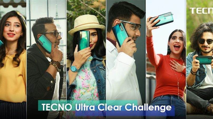 "Tecno's ""Ultra-clear Challenge"" with top-six KOL's"