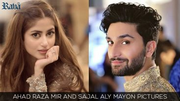 Ahad Raza Mir and Sajal Aly Mayyon Pictures