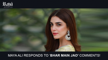 Maya Ali responds to 'bhar main jao' comments!
