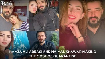 Hamza Ali Abbasi and Naimal Khawar Making the Most of Quarantine