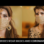 Pakistani brides wear masks amid coronavirus threat