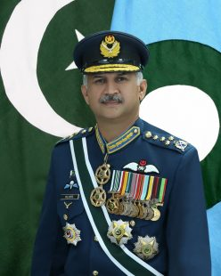 Air Chief Marshal Mujahid Anwar Khan expresses grief over the sad demise of Admiral Muhammad Shareef.