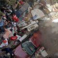 Work to remove crashed aircraft debris gets underway