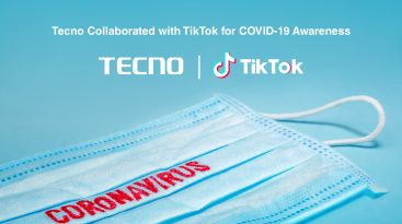 Win the Exclusive Camon 15 by Participating in TECNO's Covid-19 Awareness Campaign on TikTok