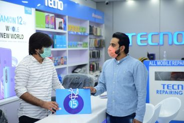 The Punjab Governor Cuts the Ribbon for TECNO Donation Ceremony to Help the Country Resume Work