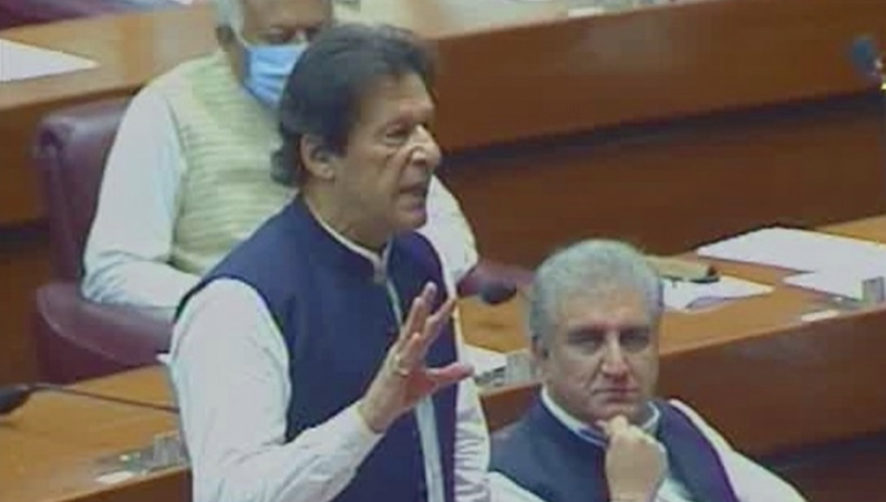 PM Imran says there's been no 'confusion' in govt's Covid-19 response