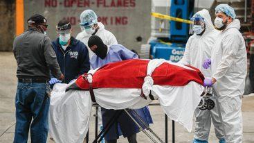 Coronavirus leaves more Americans dead than WWI