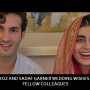 Shahroz and Sadaf garner wedding wishes from fellow colleagues