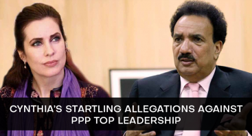Cynthia's Startling Allegations against PPP Top Leadership