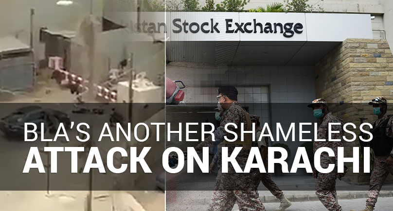 BLA's Another Shameless Attack on Karachi