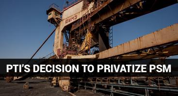 PTI's Decision to Privatize Pakistan Steel Mills