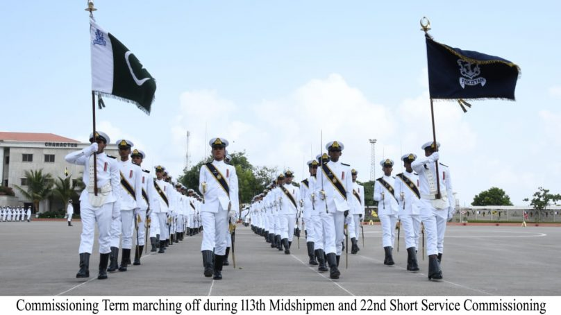 Passing Out Parade: 113TH MidShipMen  & 22ND SSC Course at Pakistan Naval Academy