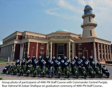 Pakistan Navy War College holds 49th Convocation