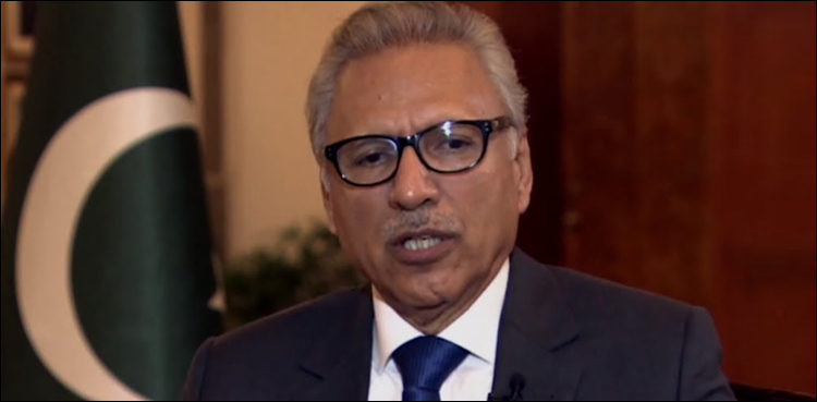 Covid-19 cases declining in Pakistan due to govt policies, public cooperation: Alvi