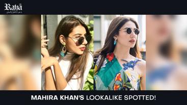 Mahira Khan's Lookalike Spotted!