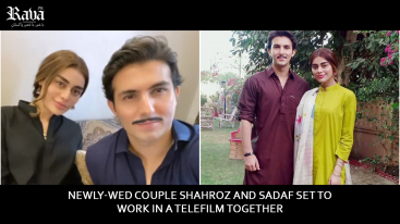 Newly-wed couple Shahroz and Sadaf set to work in a telefilm together