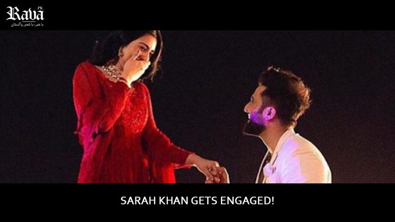 Sarah Khan Gets Engaged!