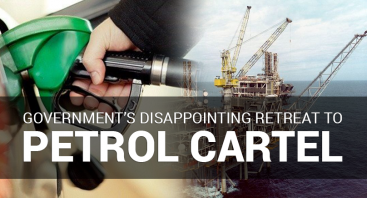 Government's disappointing retreat to petrol cartel