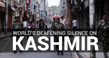 World's deafening silence on Kashmir