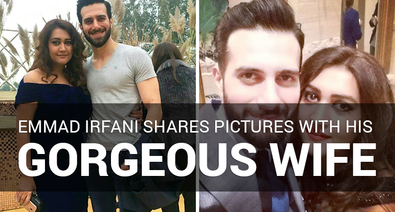 Emmad Irfani Shares Pictures with His Gorgeous Wife
